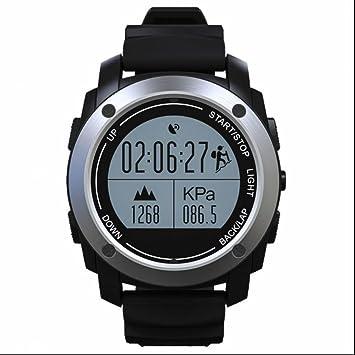 Montre Connectée, Bluetooth smartwatch Rond Etanche avec SIM/TF Carte Étape compteur sports de plein air ...