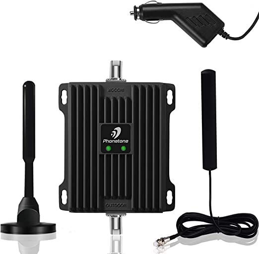 Verizon AT/&T 4G LTE Signal Booster Dual 700MHz Band 12//13//17 Repeater Amplifier Kit Enhance Cellular Voice /& Data Signal in Vehicle Cell Phone Signal Booster for Car Truck and RV