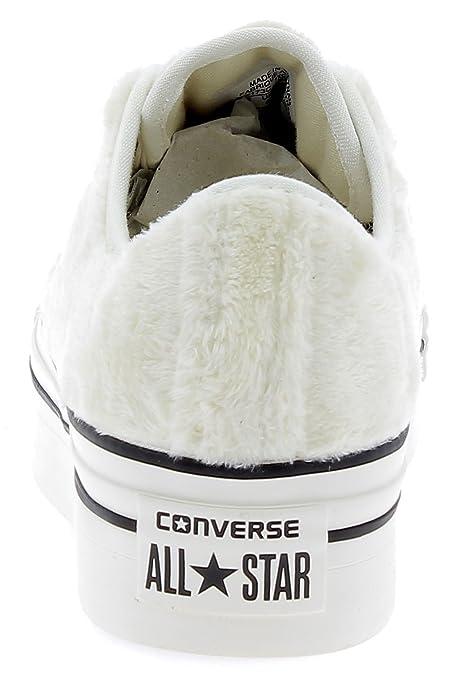 e9712cc7a4 Converse - Converse Ctas Platform Ox Scarpe Sportive Donna Egret ...