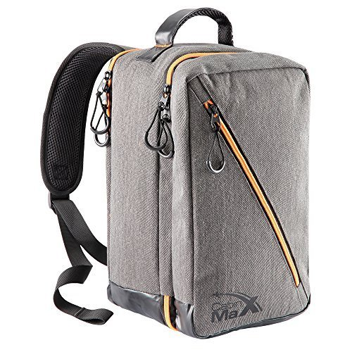 Oxford Stowaway Bag   8 X14 X7    Stylish Carry On Cabin Bag  Grey