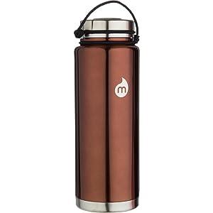 MIZU V12 40oz Water Bottle Copper Steel, One Size