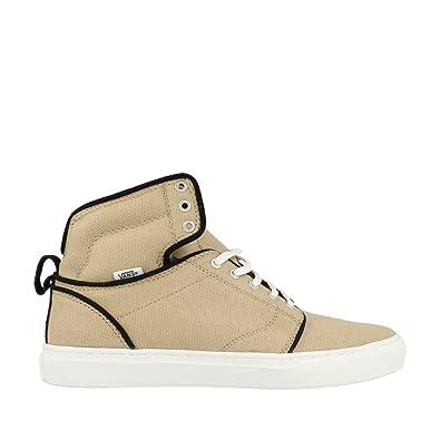 62b8149683 Vans Men s Alomar (Textile) Khaki White Sneakers Shoes (9.5)   UK ...