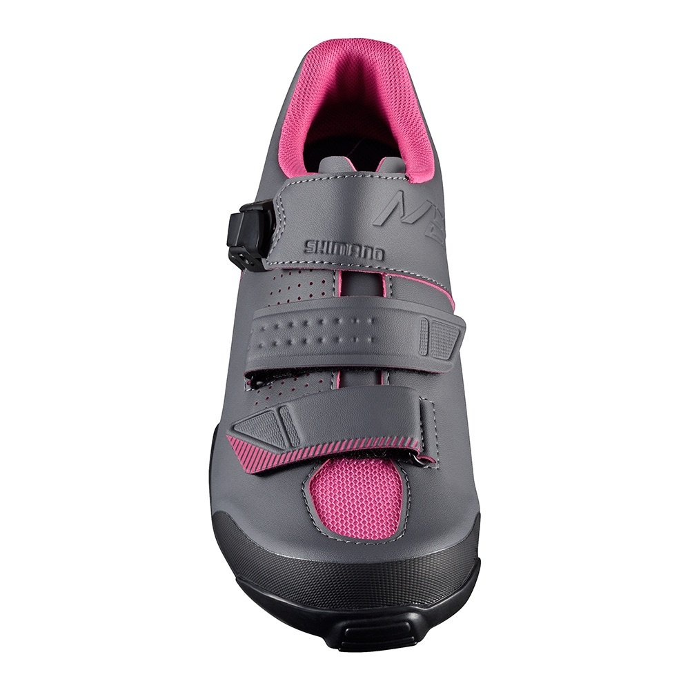 SHIMANO 2017/18 Women's SH-ME3W Mountain/Enduro Cycling Shoe - Black/Magenta (Black/Magenta - 37.0)