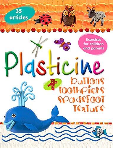 - Plasticine + buttons, toothpicks, spadefoot, texture