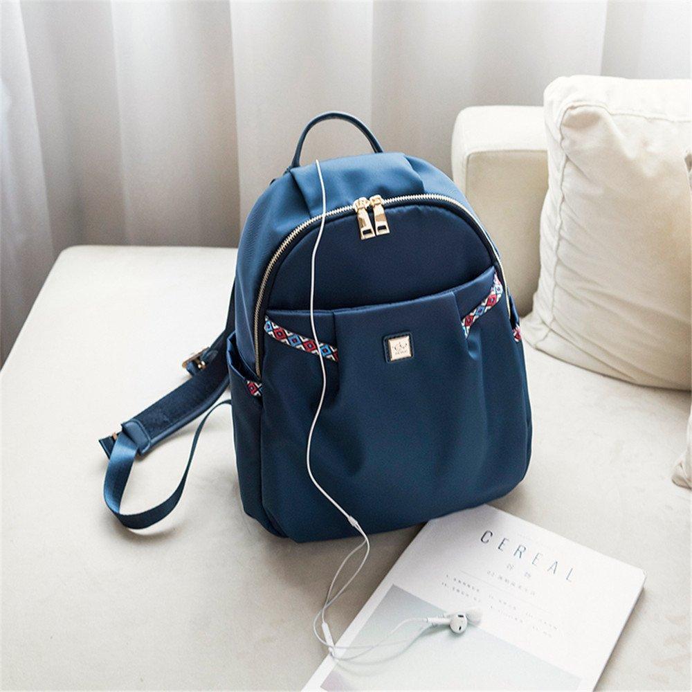 bluee 35X26X14CM SJMMBB New Oxford cloth fashion Canvas Backpack,bluee,35X26X14CM