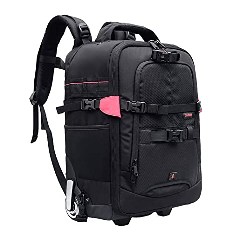 LILINSS Camera Backpack Mens Large Capacity Lightweight and Durable Professional SLR Backpack Shockproof Travel Photography Backpack