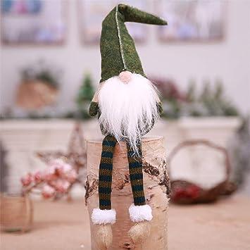 Nyaole Weihnachten Kein Gesicht Lange Beine Bart Cartoon Alten Mann