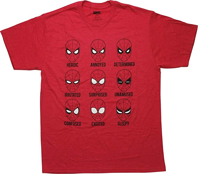Amazon.com: Spiderman The Many Faces of Peter Parker Graphic ...