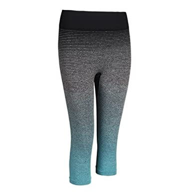 4a41feab98b Amazon.com  silmei Fitness Leggings Compression For Women Capri Workout  Running Yoga Leggings Exercise Workout Pants Gym Tights For Women 4colors   Clothing
