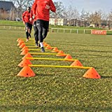 Central Soccer Sports Fitness Agility Training Big Markers Set