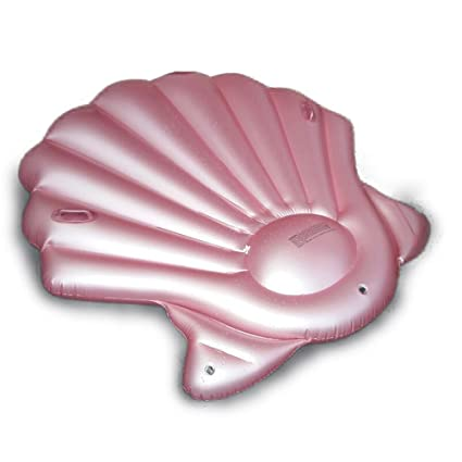 Amazon.com: Pink Scallop Shape Inflatable Floating Row For ...