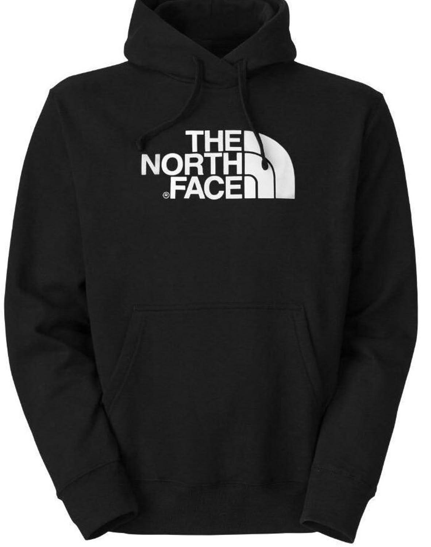 1338b6c85 The North Face Men 80/20 Half Dome Hoodie In Black White Logo X ...