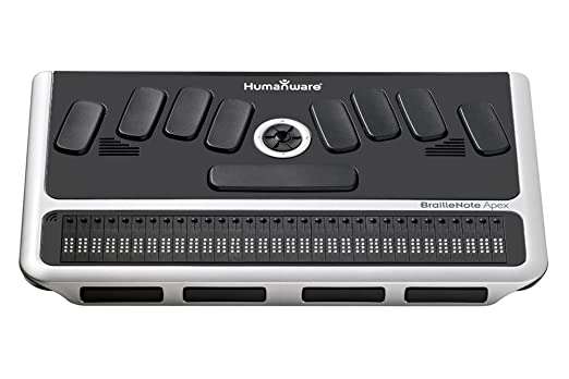 HumanWare BrailleNote Apex BT 32 Braille Notetaker
