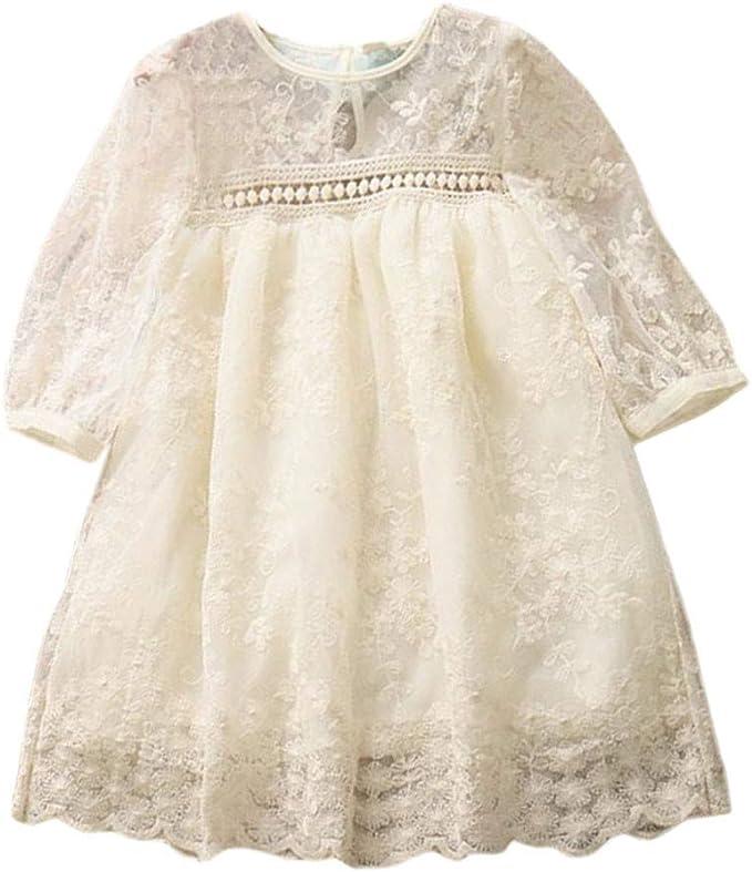 Amazon.com: GoodLock - Vestido de princesa de encaje para ...