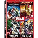 Avengers Confidential: Black Widow & Punisher / Marvel Anime: Ironman - Complete Series / Marvel Anime: Wolverine - Complete Series / Marvel Anime: X-Men - Complete Series - Set