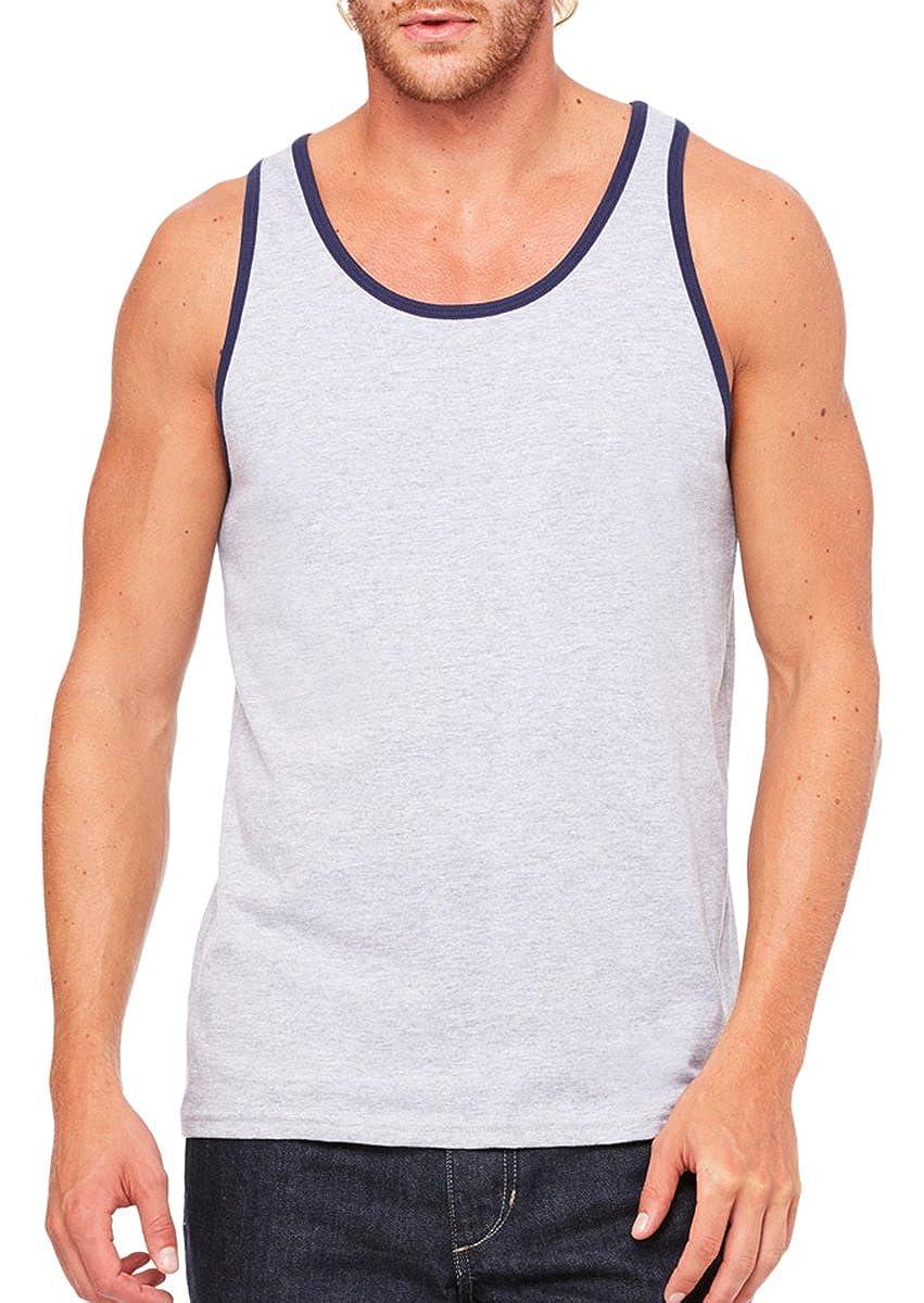 c666f78148281 Bella + Canvas Unisex Jersey Tank - ATH HTHR Navy - M - (Style   3480 -  Original Label) at Amazon Men s Clothing store