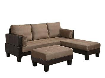 Amazon.com: Coaster sofá cama group-tan: Kitchen & Dining