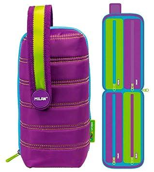 Estuche milan kit 4 estuches con contenido colours lila ...