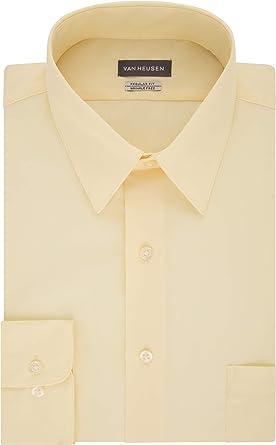 Van Heusen Camisa de vestir de los hombres Regular Fit ...