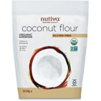 Nutiva 优缇 椰子面粉 椰子粉 代替面粉 无麸质 无糖 无添加 1360g(美国进口)