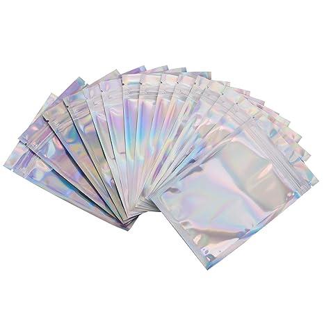 Amazon.com: 100 bolsas a prueba de olor, varios tamaños ...