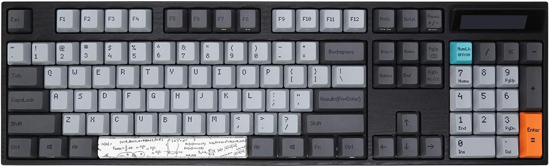 Varmilo VA104C Calculator White LED Mechanical Keyboard