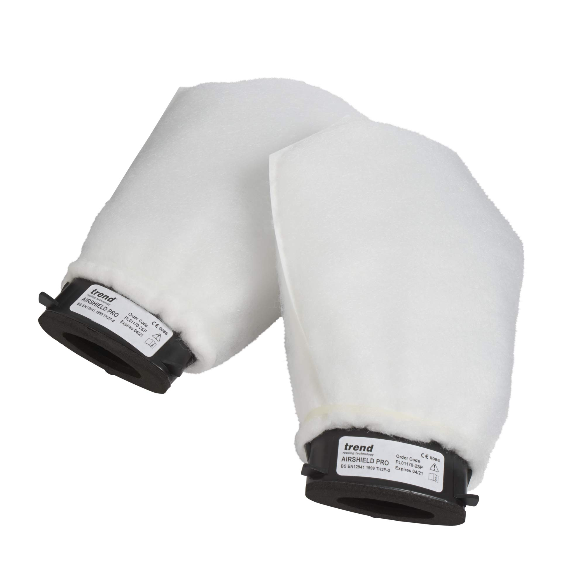 TREND AIRPRO AIR/P/1 THPS2 Pair Replacement Air Filters by TREND