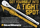 """GEARWRENCH 2 Pc. 1/4"""" & 3/8"""" Drive Long Handle"""
