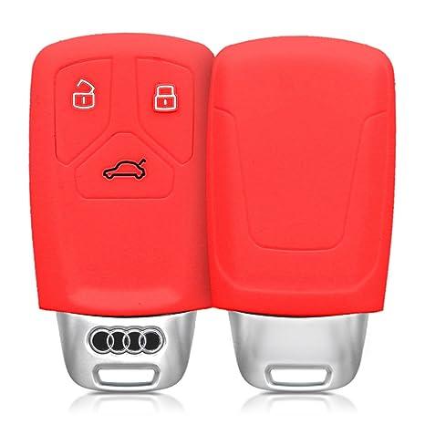Amazon.com: Kwmobile - Funda de silicona para llave de Audi ...