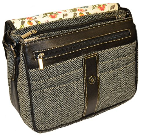 Direct The Bag Isle Harris Tweed By Black white Available Harriswear 1 From Of Colour Hb1 Shoulder 1qpYwH