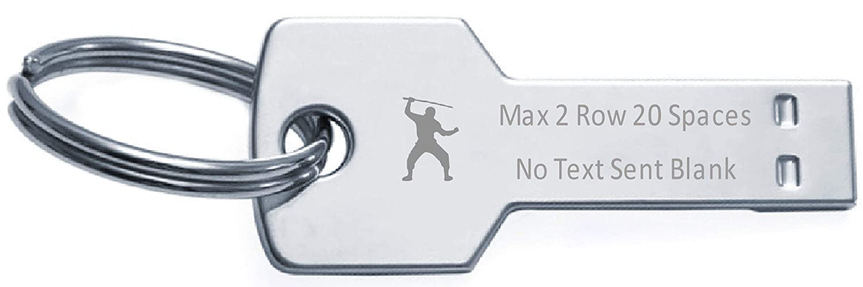 Amazon.com: Keyring Flash Memory Stick Key USB 16GB Text ...