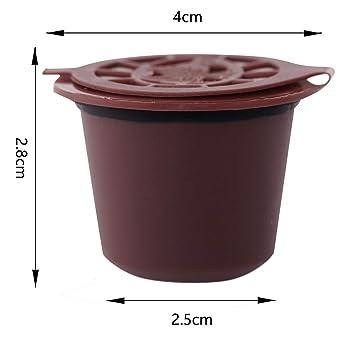 SOPRETY - Cápsulas de café reutilizables para cafetera ...
