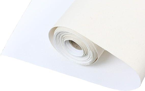 5 Meter Rolle Leinwand Breite 160 cm Baumwolle  380 gr //qm