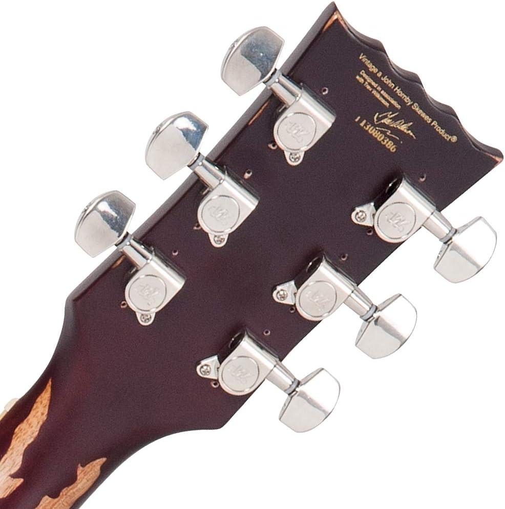 Vintage Guitars ICON V100 Distressed Lemon Drop - Guitarra ...