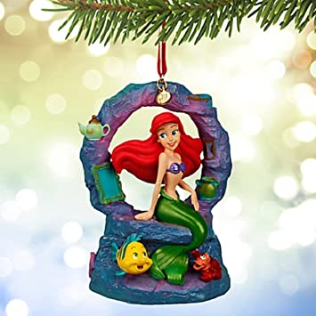 Amazoncom Disneys Ariel Musical Sketchbook Ornament 2015 Home
