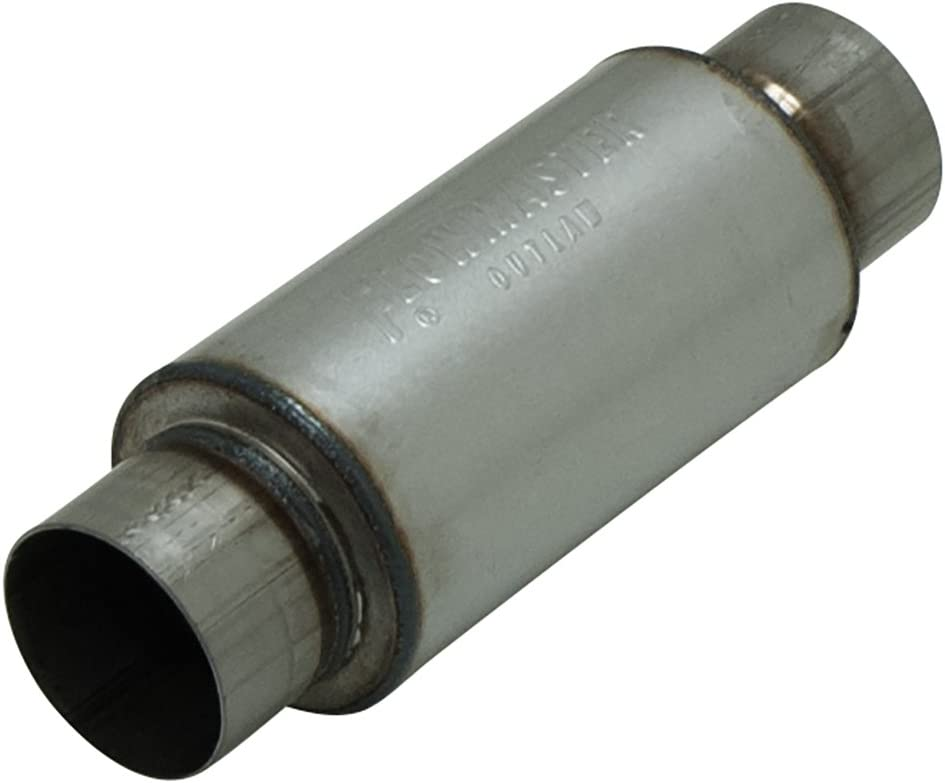 """Flowmaster 13509135 Pro Series Outlaw Muffler 3.5/"""" Inlet//Outlet Round"""