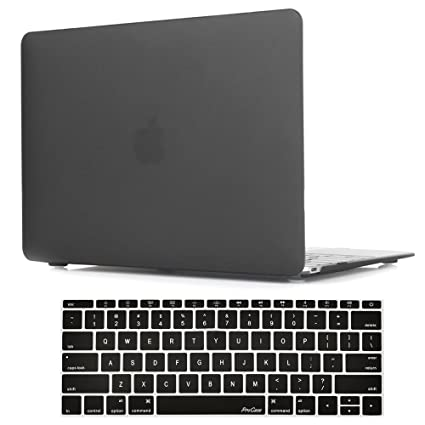 100% authentic a43bc a48ee ProCase MacBook 12 Inch Case A1534, Hard Case Rubberized Shell Cover with  Silicone Keyboard Skin Cover for Apple MacBook 12