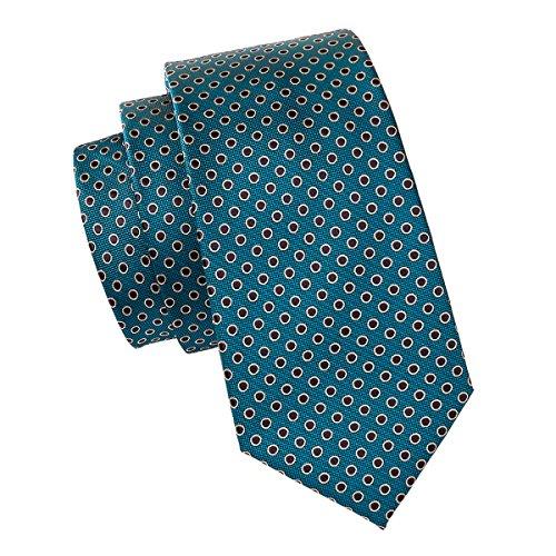 Cufflinks Barry Woven Ties Set Tie Hanky Necktie Dot Formal Teal Wang nfrItfxPwT