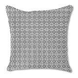 Islamic Tile 18X18 Burlap Pillow
