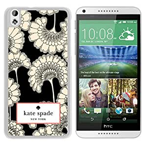 New Fashion Custom Designed Kate Spade Cover Case For HTC Desire 816 White Phone Case 30