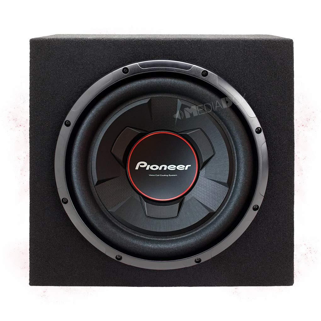 Pioneer UD de w306r –  30 cm/300 mm Auto/subwoofer Bass Caja/Caja de Graves –  1300 W MAX Pioneer.
