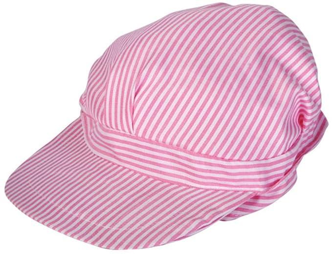 715ea7d7ec3 Amazon.com  Kids Girls Pink   White Engineer Train Driver Engineer ...