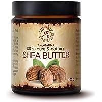 African Shea Butter 100ml - Refined - 100% Natural & Pure Shea Butter - Ghana - Best for Hair - Skin - Nail - Lip - Face…