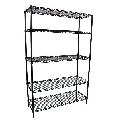 HDX 5-Shelf 36 in. W x 16 in. L x 72 in  sc 1 st  Amazon.com & Amazon.com: HDX 5-Shelf 36 in. W x 16 in. L x 72 in. H Storage Unit ...