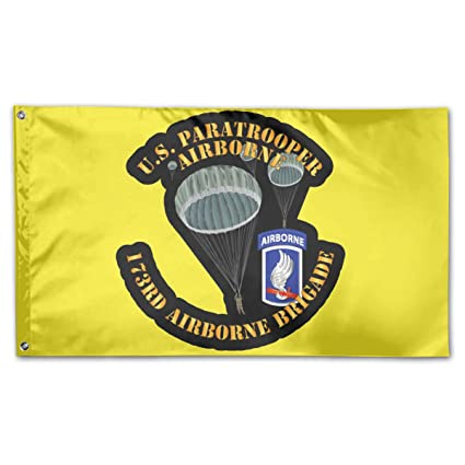 Amazon.com : Miuins US Paratrooper - 173rd Airborne BDE Flag ...