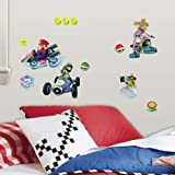 RoomMates Mario Kart 8 Peel and Stick Wall Decal, Multicolour