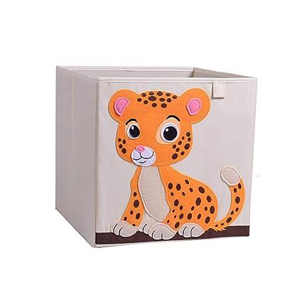Amazon Com Collocation Online 3d Embroidery Cartoon Folding Basket