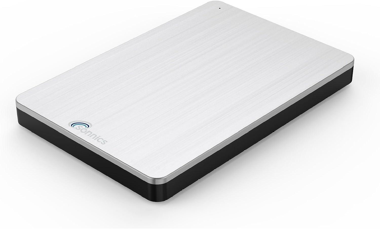 Sonnics 250GB Plata Disco duro externo portátil USB 3.0 de alta velocidad de transferencia para uso con Windows PC, Apple Mac y XBOX 360: Amazon.es: Informática