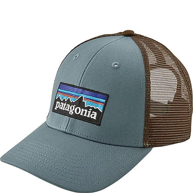 9abc00e06 Amazon.com: Patagonia Mens P-6 LoPro Trucker Hat (Shadow Blue): Clothing