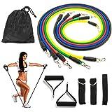 Vkaiy Bandas Elásticas Resistencia, Elásticas de Resistencia para Ejercicios Físicos Fitness Entrenamiento Crossfit (Material